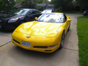 2002  Corvette Z06  6 speed leather  heads up .loaded