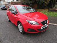 2010 SEAT IBIZA 12 TDI MANUAL DIESEL 5 DOOR HATCHBACK