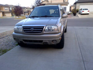 2001 Suzuki XL7 Cloth SUV, Crossover