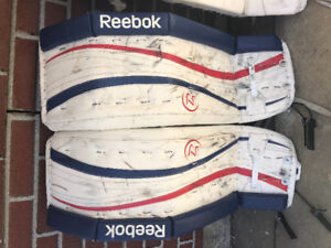 Reebok Goalie Pads - 33+1 in excellent condition