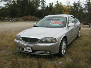 2005 Lincoln LS and 7.5ft Western Snow Plow