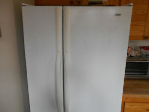 KENMORE SIDE-BY-SIDE FRIDGE