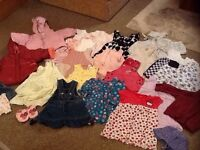 Baby Girl Clothes Bundle Aged 6-9 months