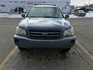 2003 Toyota Highlander-Loaded-In a perfect condition