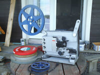 16mm movie projectors (2) and some movies