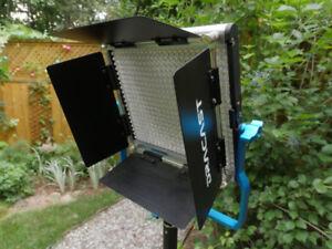 Lampe video studio photo