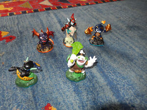 skylanders game and other monsters