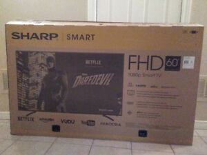 "60"" Sharp Smart LED TV BRAND NEW IN BOX"