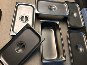 STAINLESS STEEL (STEAM PANS) CONTAINERS
