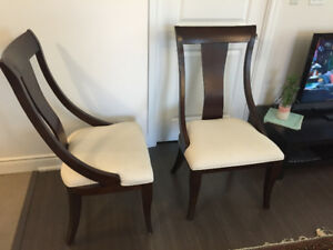 TWO GORGEOUS ACCENT/FORMAL/READING CHAIRS - From The Brick