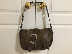 Authentic Dior Gaucho Saddle Bag Purse; chanel vuitton gucci