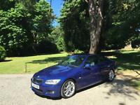 2010/60 BMW 325 2 Door Coupe 3.0 Turbo Diesel M Sport Auto Blue