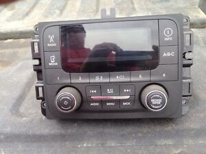 Radio from a 2014 Ram 2500