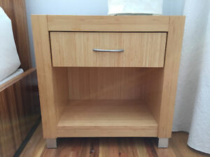 2 Bamboo Night Stands