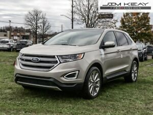 2018 Ford Edge Titanium AWD  - Leather Seats -  Cooled Seats - $