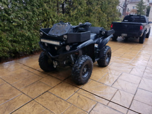 Mint condition 2016 Yamaha grizzly 700
