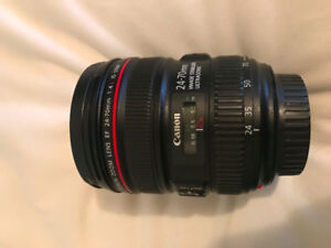 Canon EF 24-70mm f/4L IS USM Lens for sale or trade