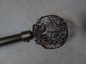Decorative Curtain Rod/Pole de rideaux decoratif