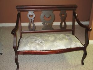 Victorian Settee and Chair