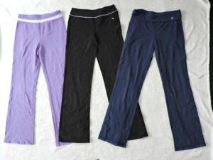 Yoga pants size girl 14 (XL)