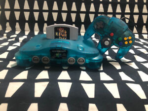 N64 Blue Console + Controller (GAME SOLD SEPERATLY)