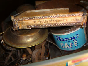 Several Antique metal tins - Best Offers