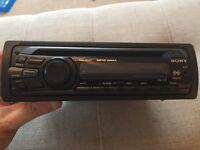 Sony CDX-GT25 CD/MP3 Car Radio Stereo