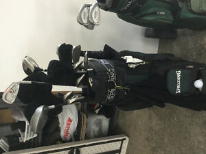 2 kit Golf Spalding