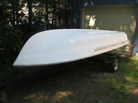 Canot Grand Mere 14 ft boat - Great for Fishing & Runabout
