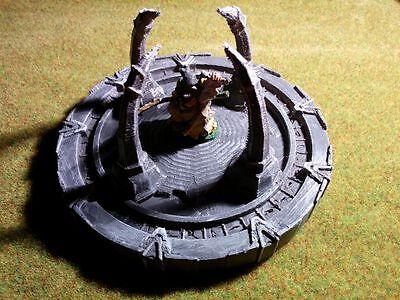 Stargate Terrain Warhammer Frostgrave 28mm 40K Wargame 25mm LOTR RPG Infinite