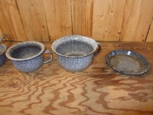 Antique/Vintage Granite Ware