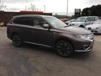 2017 Mitsubishi Outlander 2.0 PHEV 5h 5dr Auto Petrol/PlugIn Elec Hybrid brown A