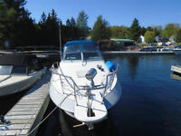 1990 Larson 25' Aft Cabin San Marino 250 Motor Yacht
