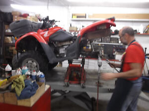 Experienced Service For All Honda ATV'S Moose Jaw Regina Area image 7