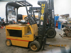 PRICE REDUCED TO SALE CERTIFIED ELECTRIC 4000 LB CAPACITY HYSTER