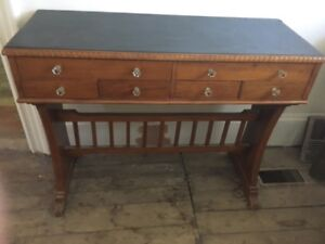Antique desk/hall table