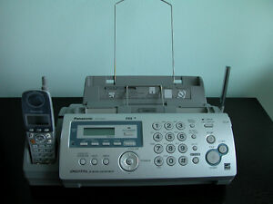 Panasonic Fax with Cordless Phone and Digital Answering System