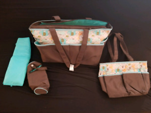 All in one diaper bag set