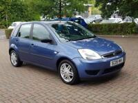 Hpi Clear - 2005 Ford Fiesta 1.4 Ghia. 5 Door Hatchback With New MOT.