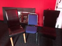 Selection of chairs for sale!