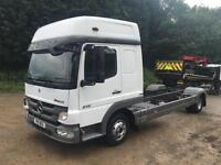 2011 11 Mercedes-Benz Atego 816 double sleeper chassis cab
