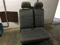 VW T5 front double passenger seat