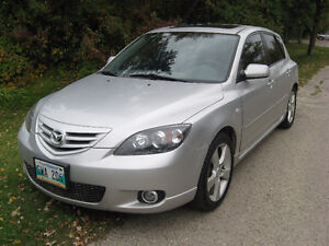 2004 Mazda3 Sport GT NEW SAFETY LOW KMS