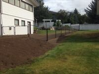 Fencing, post holes dug or augured, sono-tubes!