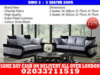 Dimo Crushed Velvet 3+2 Sofa--Best Quality