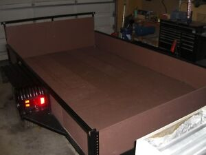 NICE HEAVY DUTY 6 X 10 TILT DECK---EVERYTHING IS NEW