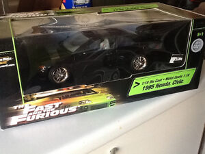 Fast and Furious Honda Civic 1995 diecast