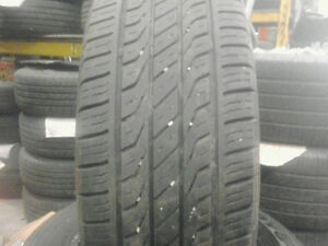2 SETS OF P215/60R16 TIRES. ALL SEASONS AND SNOWS