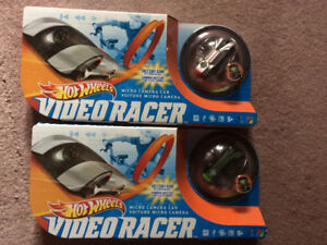 Hot Wheels Video Racer Micro Camera Cars x 2