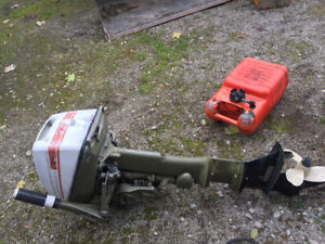 6 hp Johnson long shaft outboard. Perfect for sailboat